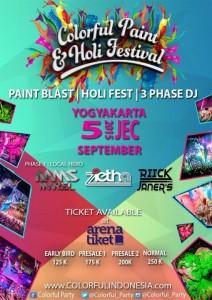 Colorful paint&Holi Fest
