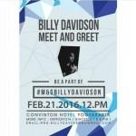 Billy Davidson Meet and Greet